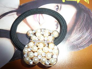 Bear pearl shape headband