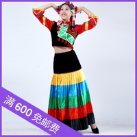 Yi clothes big yarn costume dance clothes women's stage clothing