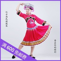 Quality haircord handmade dance costume clothes clothing stage