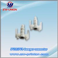 copper mimaki jv3 ink damper Connector for eco solvent printer