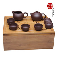 Yixing teapot clay pot set tea set teaberries belt