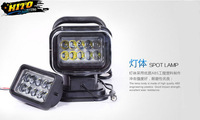 "7"" LEDoffroad light LED Remote control lamp Hot selling style, SUV, ATV, 4WD, Tractor,Heavy duty vehicle,"