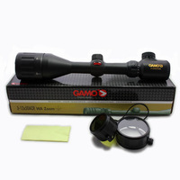 Gamo 3-12x50 AO Red Illuminated Air Rifle Optics Hunting Scope Sight