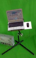 Folding notebook mount French dawdler bed, computer mount laptop holder