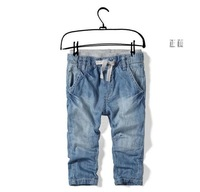 1lot=6pcs Free shipping. hot fashion Boy Girl jeans baby boys child brand jeans 2-10Years Children's clothing trousers