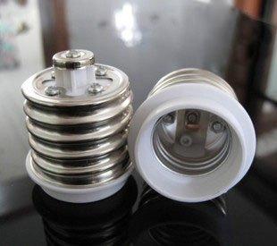 E40 to E27 Lamp holder  Free shipping (10piece /lot)