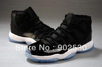 New Hot AIR 2013 Free Shipping Top quality Leather 11 Retro Men's Sports Basketball Shoes