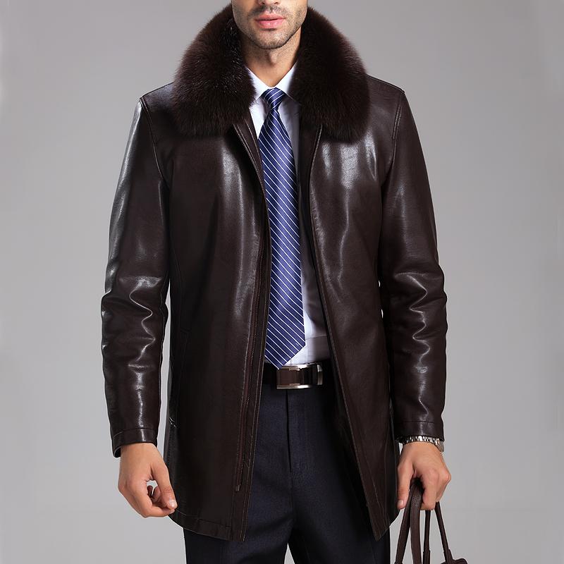 Кожаные Куртки С Мехом Мужские Купить