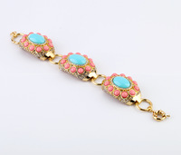 Fashion fashion alloy accessories fresh exaggerated bracelet accessories