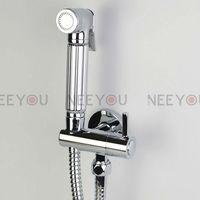 Toilet Flusher Bidet Sprayer Set Handle Enhanced pressure Shower head and Faucet 15301S