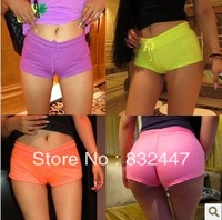 Free shipping,Women lace Short Jeans,Fashion Wornout Hot Pants,Lady Wash Denim High-waist Shorts    Free T - back