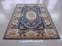 Classic luxury handmade wool carpet coffee table customize a