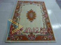 Quality pure handmade wool carpet coffee table sofa customize carpet 8