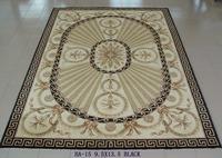 Refined wool carpet elegant classic coffee table b