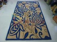 Handmade wool carpet coffee table fashion customize carpet 4
