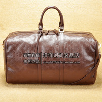 Gu ci 206500 classic cowhide Men Large commercial handbag travel bag duffel bag
