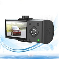 H990 2.7''LIPS 1080P FULL HD +built-in Dual Camera+intemal 3D G-Sensor Car DVR Camcorder night vision car dvr vehicle car dvr