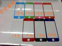 phone 5 generations of colored mirror screen display on the outside glass mirror glass panel touch scree