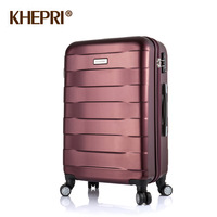 Platinum matt scrub 28 abs pc luggage travel bag trolley luggage bag