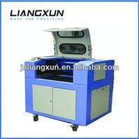 laser cutting machine cut the thin acrylic LX640