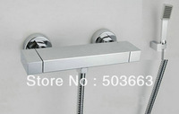 Wholesale Wall Mounted Chrome Faucet Bathroom Bathtub Sink Mixer Tap Waterfall Spout  S-614