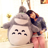 75cm Totoro doll, plush doll pillow Totoro doll birthday gift wholesale free shipping