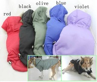 Large dog clothes hooded winter jacket ski suit warm and comfortable dog clothing Pet Products
