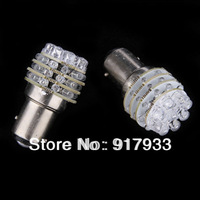 2pcs / lot 1157 S25 P21/5W BAY15D White red yellow blue 36 LED Car Auto Turn Brake Rear Light Bulb Lamp