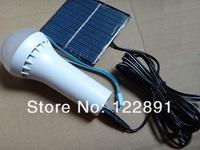 HOT Sale! Design 6xLEDs Solar Lamp+Solar Powered Lighting Outdoor Energy Conservation Light +0.8W Solar Panel  Free Shipping