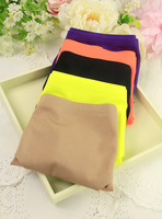 Summer cool and refreshing 6 a piece seamless solid color comfortable brief young girl mid waist trigonometric panties