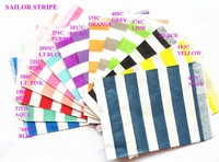 """Free Shipping 1400pcs (25pcs/style) 7"""" x 5""""  14 styles You Can Pick Sailor Stripe Party Favor bags Party Treats bags"""