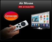 RC09 Gyroscope Model Operate 2.4G Universal Wireless Air Mouse 30M Remote Control For Smart TV Box Desktop Laptop Mini PC