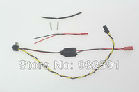 Gopro Hero 3 USB 90 degree to AV Video Output DC 5V Power Supply BEC Input Cable FPV Free Shipping Wholesale