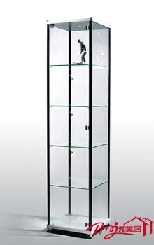 Meiju brief modern furniture accessories display cabinet glass showcase modern wine cabinet b023b