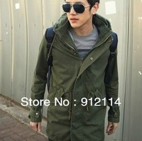 2013 Double collar Doing Old mens military cargo jackets, army green Military uniform jacket for men ,freeshipping.M-XXL,w03