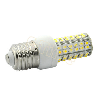 Wholesale 5pcs/lot E27 SMD3528 80 LED Light Bulb Corn Lamp Cold White 200-240V 4W Led Lighting Energy Saving Bulb11995