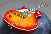 CG LP Custom Shop 1959 Standard Cherryburst Left Hand Electric Guitar Free Shipping