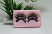 Free Shipping 20Pairs  False Eyelashes Nature Long Black Makeup All Handmade Z49