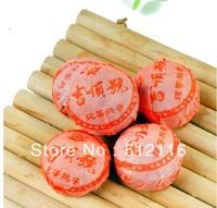 Mini pack 2000 years 4g/pcs original favor puerh tea health care weight lose pu erh decompress pu'er brick Puer
