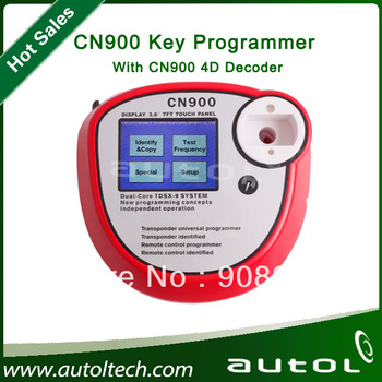 CN900 Key Programmer CN900 Auto Transponder Chip Copy Machine For 4C&4D