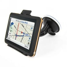 4 3 inches TFT Touch Screen Portable GPS Navigation SDRAM 128MB Windows CE 6 0 Vehicle