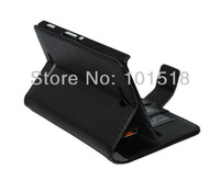 New Embossed leather case for Sony Xperia C S39h  ,inner standing+film