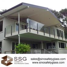 glass balustrade price