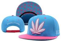 2013 New Marijuana Weed Snapback hats Maple Leaf print top quality men's women's baseball caps 6 styles sun-shading cap