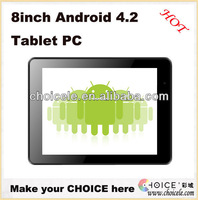 2013 new 8inch 3G gps ips quad core tablet pc,dual camera tablet made in china