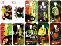 New skin design Bob marley case hard back cover for samsung Galaxy S4/i9500 10PCS/lot+free shipping