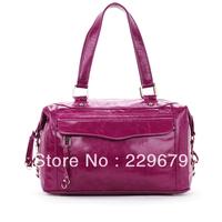 Hot selling  women's fashion high quality genuine leather handbag leather shoulder bags tot e bag bolsa free shipping