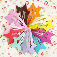 Colorful star hairgrip/Elastic Barrettes/clip/Hair accessories/Headwear for girls.Free shipping.Wholesale price.Hot.TWC23M20