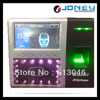 4.3 Inch TFT TCP/IP, USB Host, RS232/485,Wiegand Out Biometric Fingerprint Facial Time Attendance