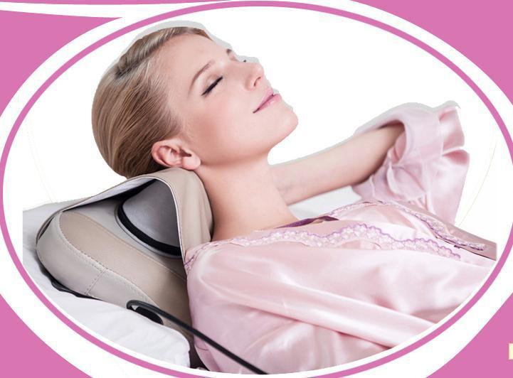 Mais recentes actualizado Infrared elétrica terapia magnética lombar / Cervical almofada de massagem corpo massagem Pillow(China (Mainland))